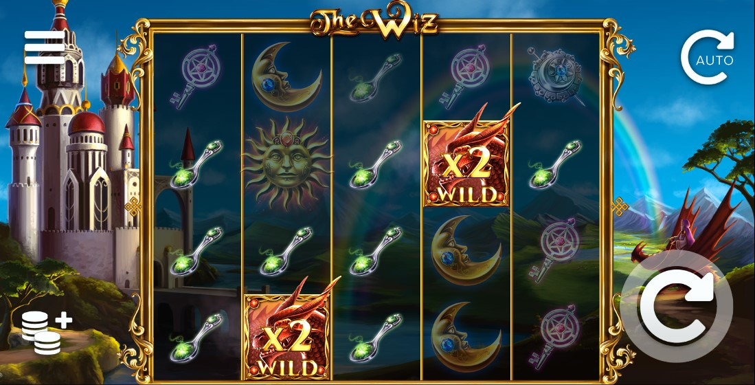 Слот The Wiz