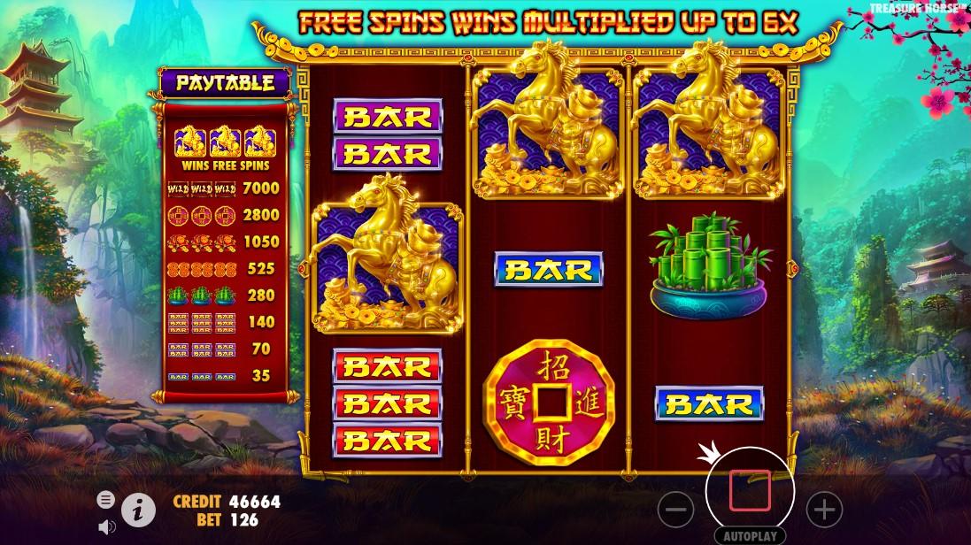Treasure Horse играть бесплатно