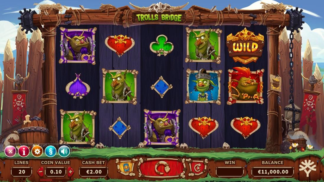 Играть бесплатно Trolls Bridge