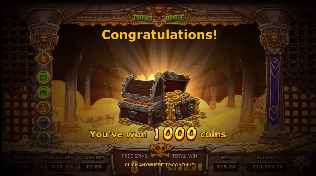 Trolls Bridge игровой автомат