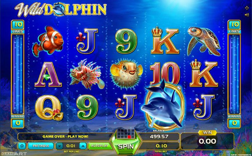 игровые автоматы дельфины играть бесплатно без регистрации
