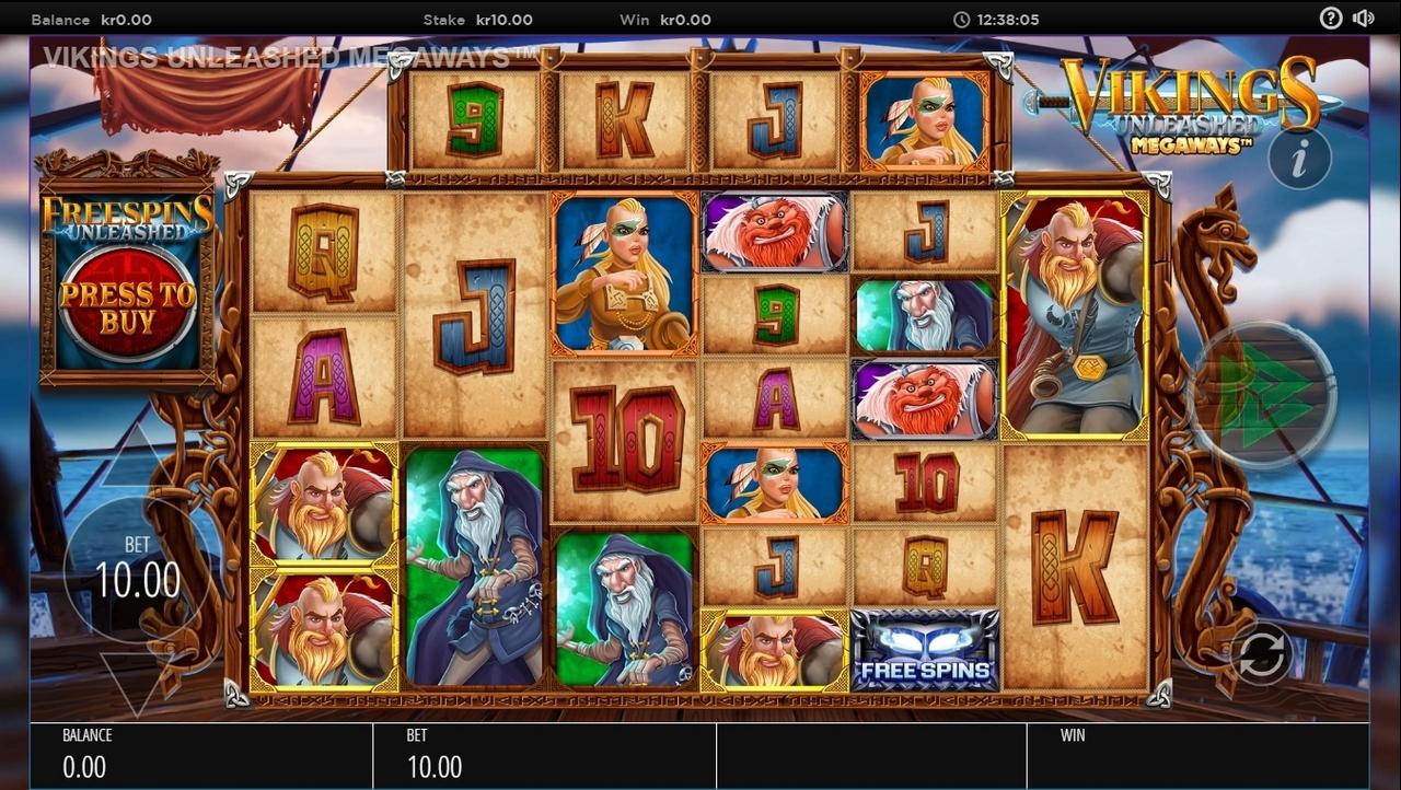 Играть бесплатно Vikings Unleashed