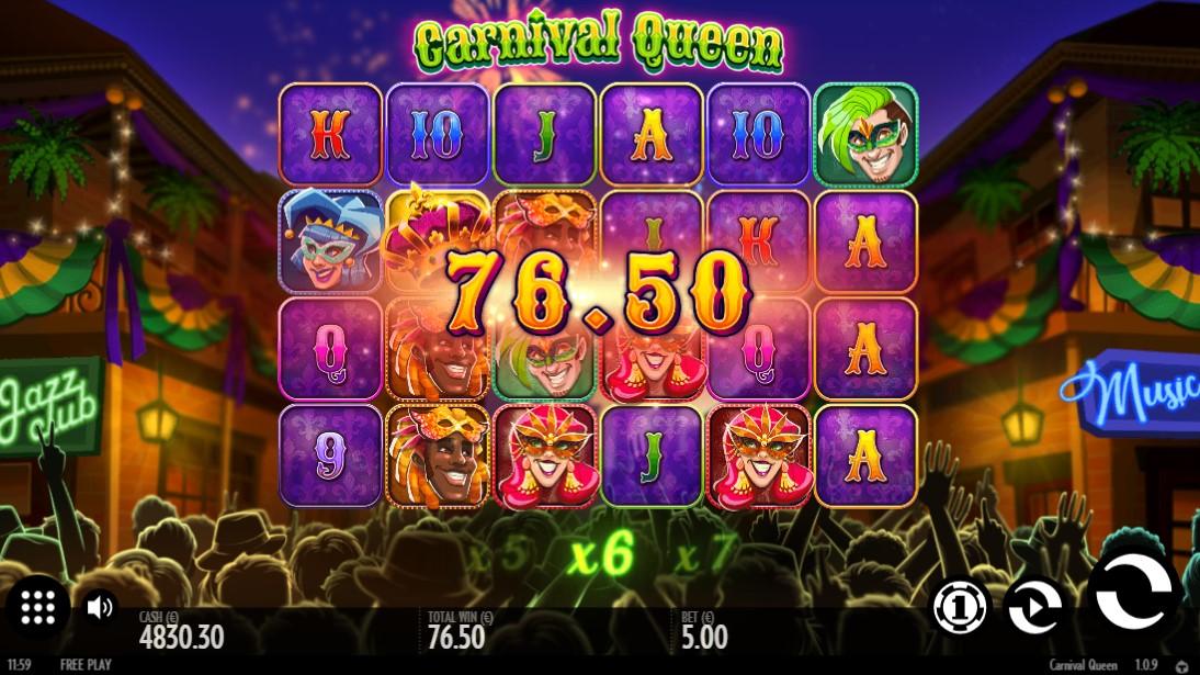 Игровой автомат Carnaval Queen