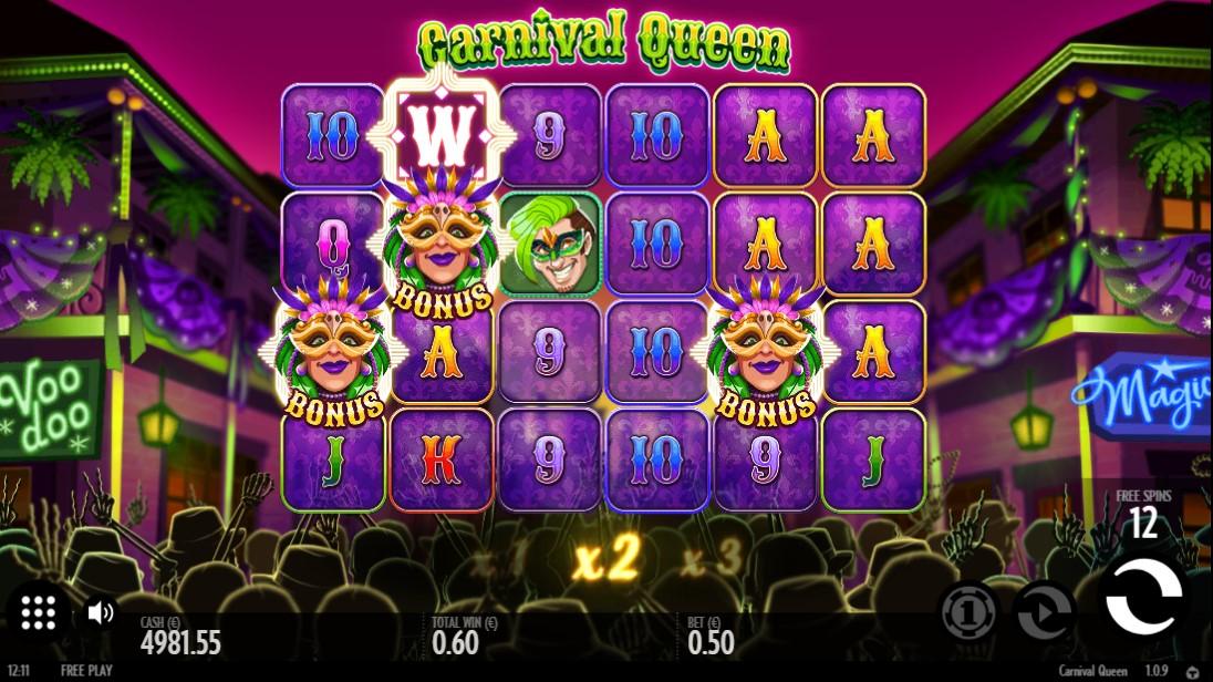 Carnaval Queen игровой автомат