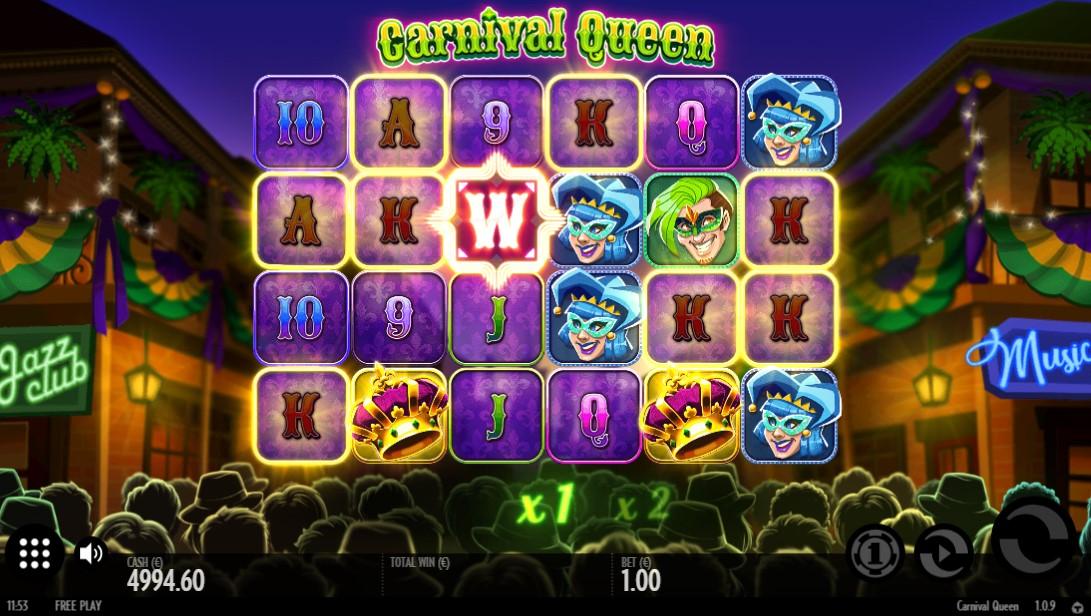 Бесплатный слот Carnaval Queen