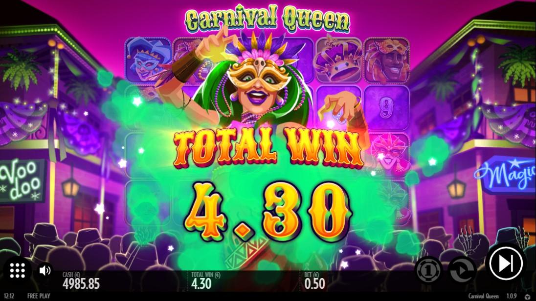 Играть онлайн Carnaval Queen