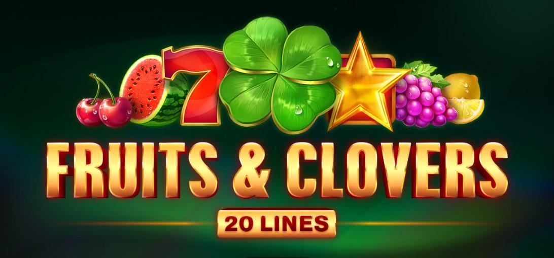 Игровой автомат Fruits & Clovers 20 lines