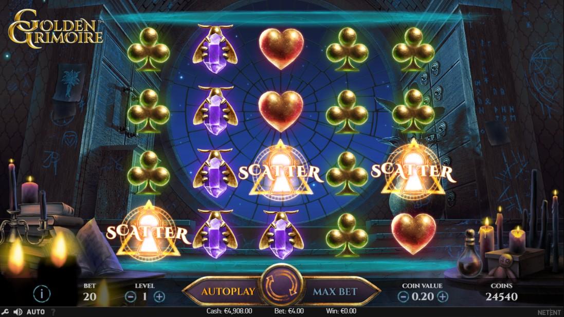 Golden Grimoire играть онлайн
