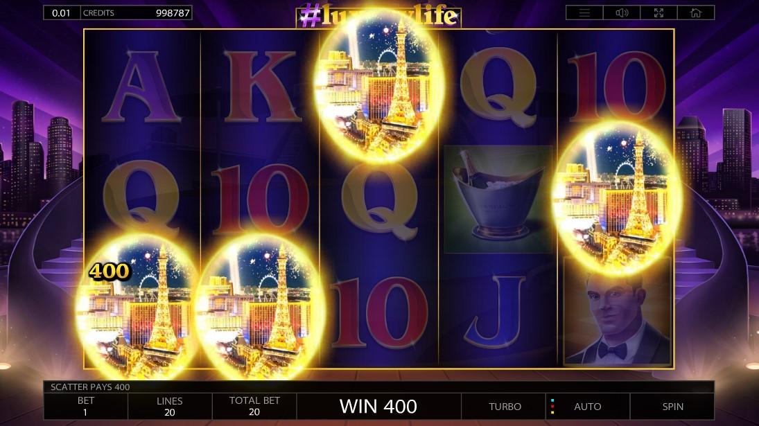 #Luxurylife бесплатный слот играть