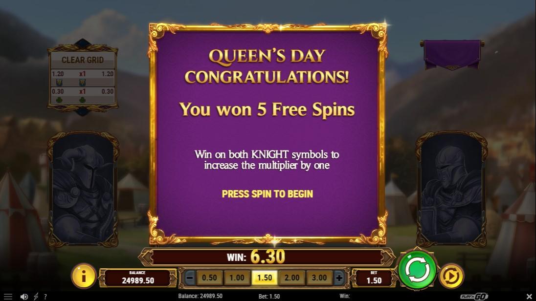 Queen's Day Tilt игровой автомат