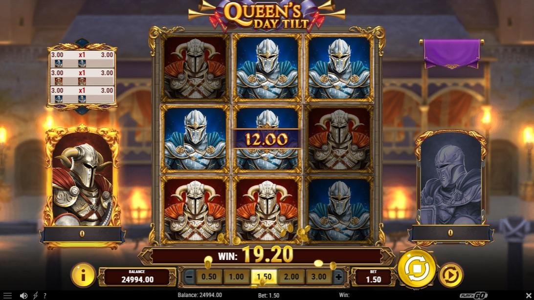 Играть онлайн Queen's Day Tilt