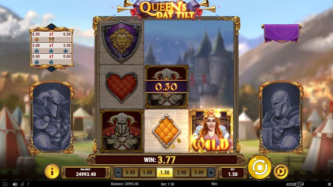 Бесплатный слот Queen's Day Tilt