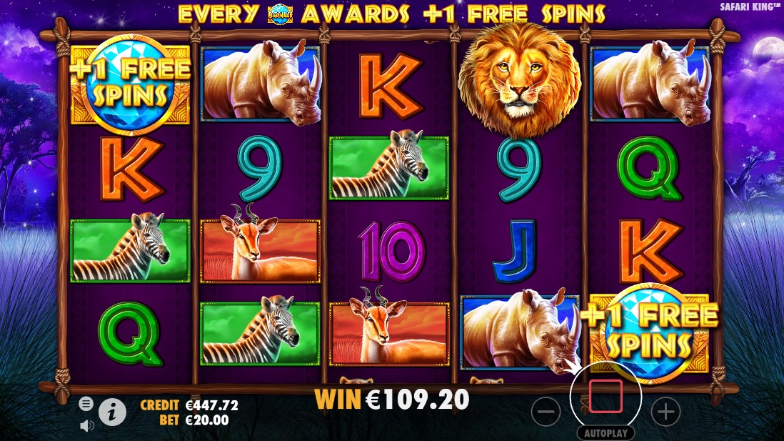 Safari King слот играть