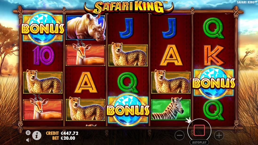 Игровой автомат Safari King