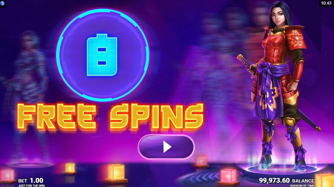 Shogun of Time бесплатный игровой автомат