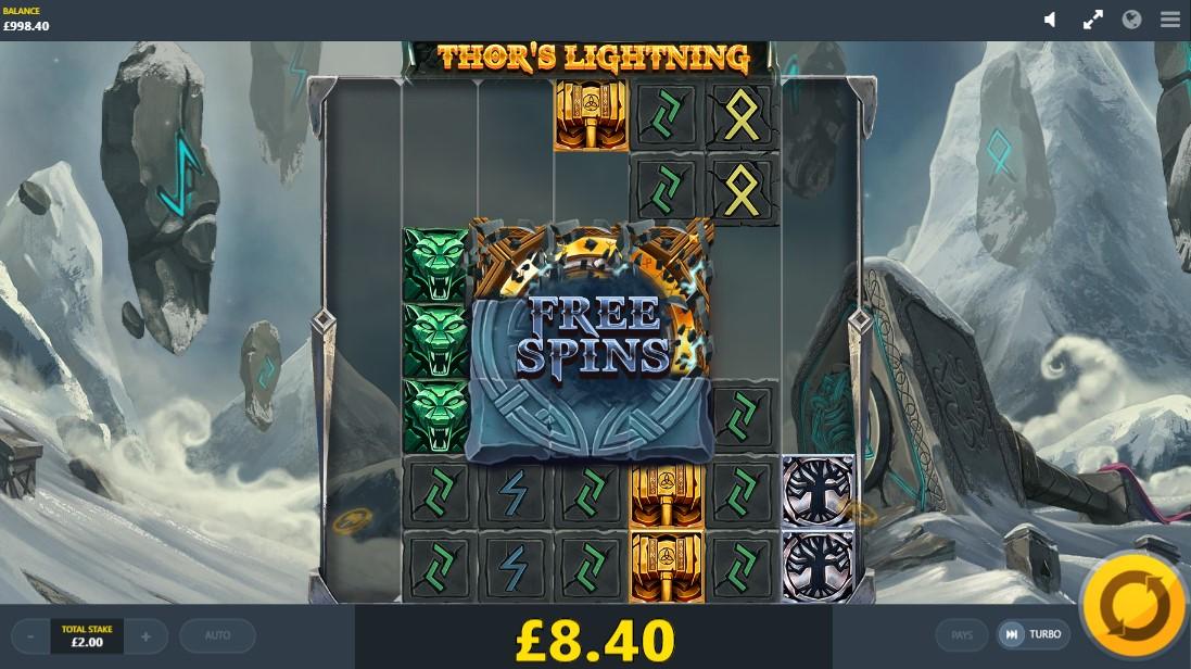 Бесплатный слот Thor's Lightning