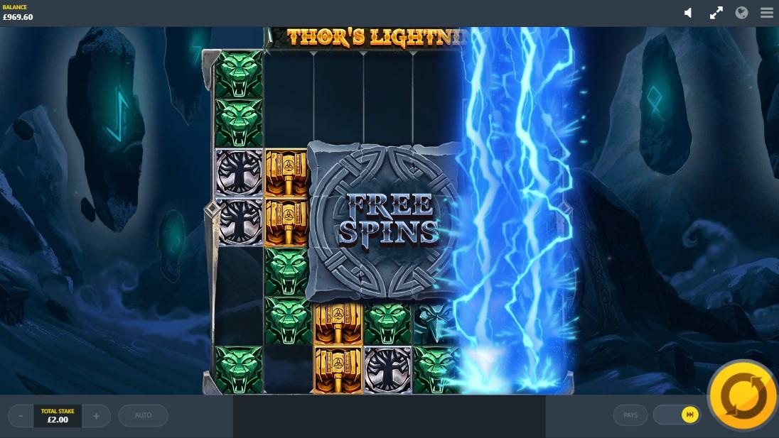 Thor's Lightning слот играть
