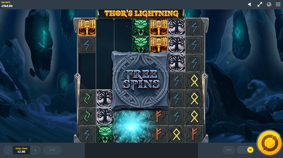 Thor's Lightning бесплатный слот