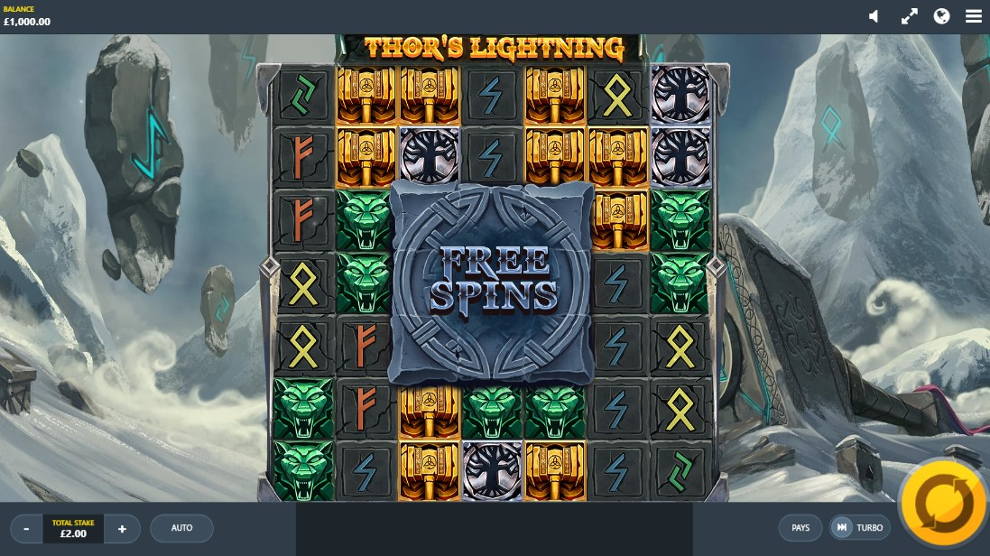 Играть бесплатно Thor's Lightning