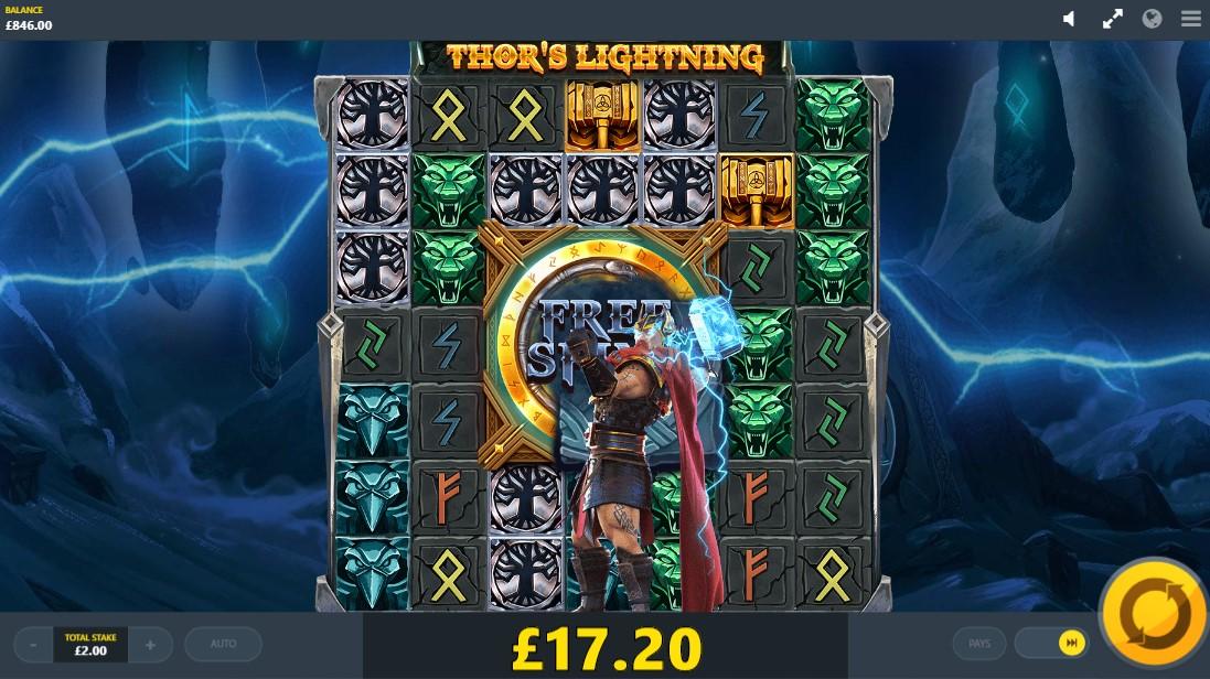 Thor's Lightning игровой автомат