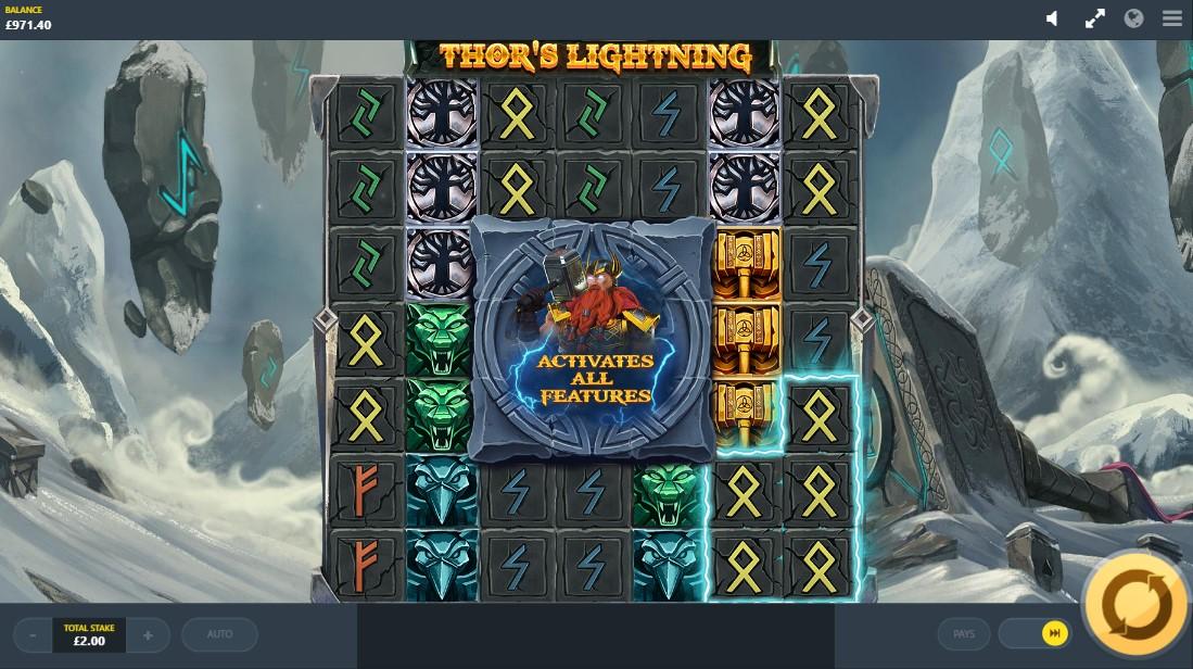 Слот Thor's Lightning