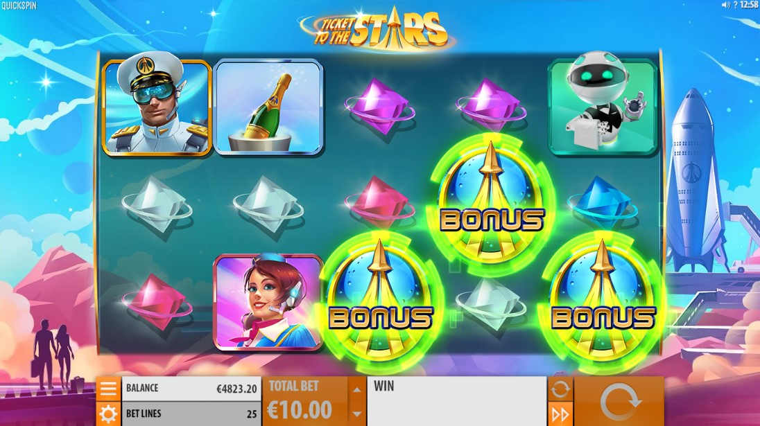 Ticket to the Stars играть
