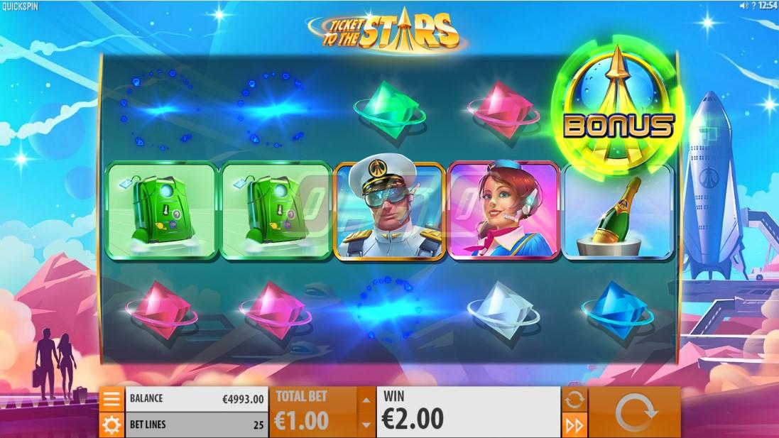 Бесплатный слот Ticket to the Stars