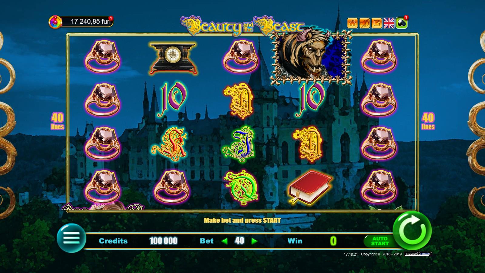 Игровой автомат Beauty and the Beast