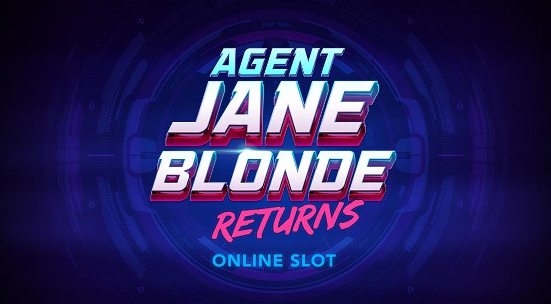 Игровой автомат Agent Jane Blonde Returns