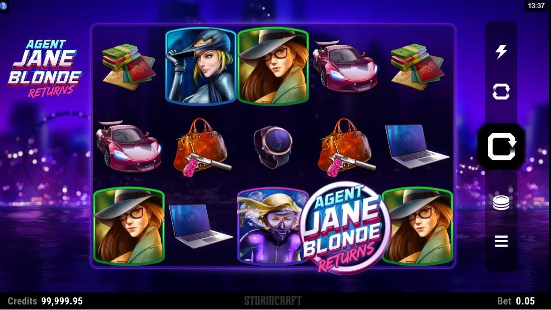 Слот Agent Jane Blonde Returns играть