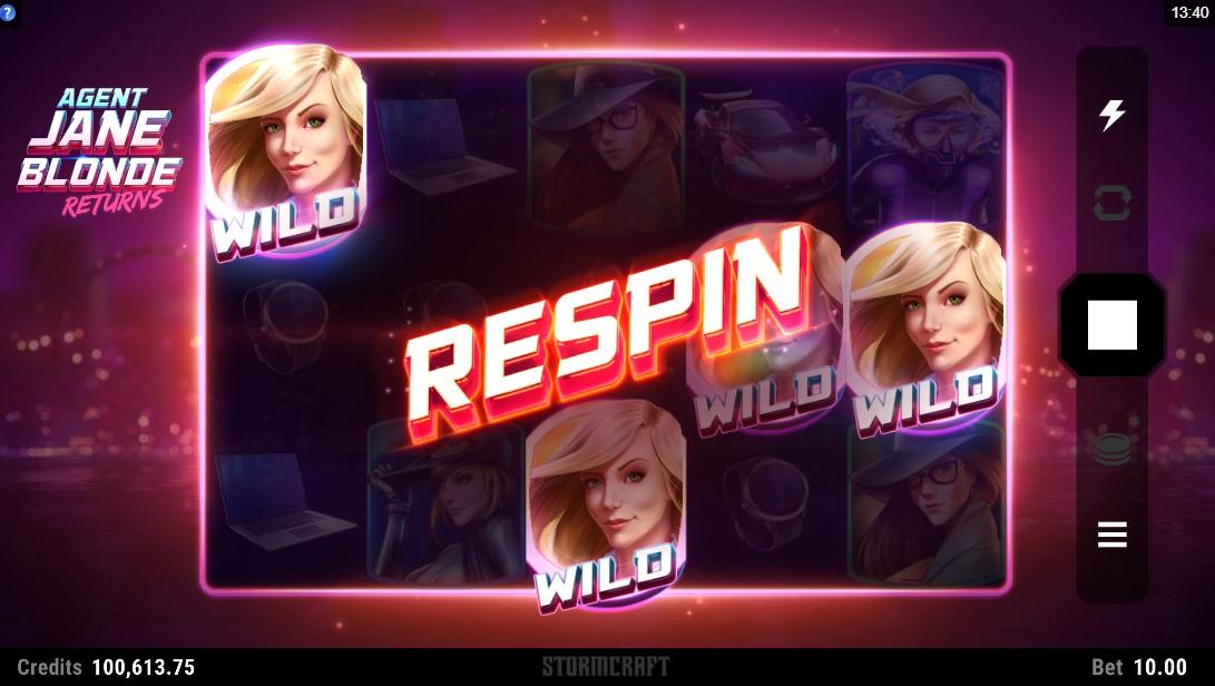 Agent Jane Blonde Returns игровой автомат