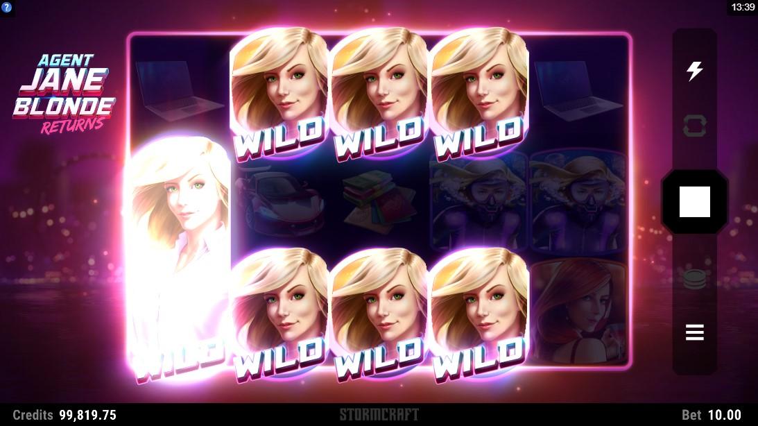 Agent Jane Blonde Returns онлайн слот