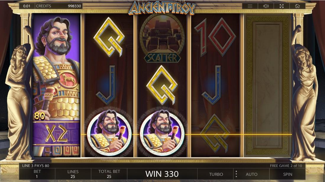 Ancient Troy игровой автомат