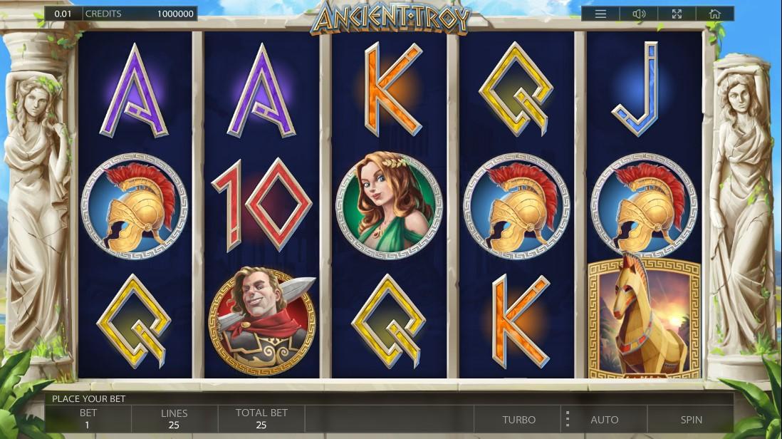 Ancient Troy играть онлайн
