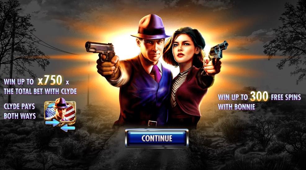 Игровой автомат Bonnie & Clyde