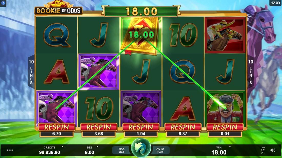 Бесплатный слот Bookie of Odds