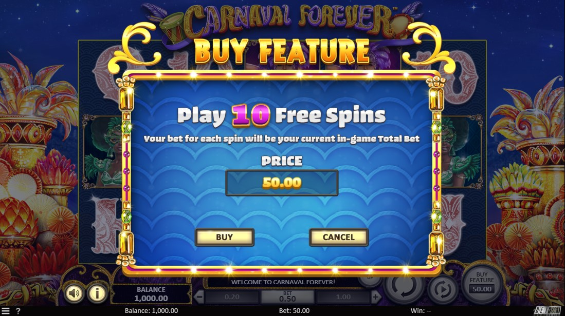 Слот Carnaval Forever играть