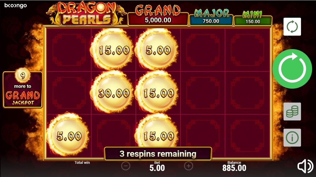 Игровой автомат Dragon Pearls: Hold & Win