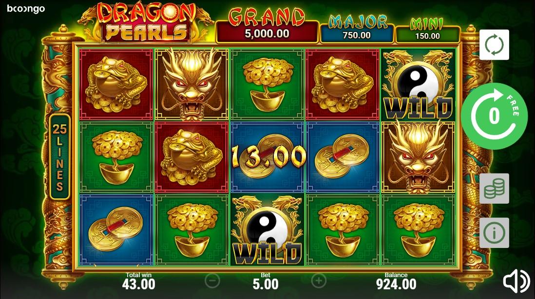 Онлайн слот Dragon Pearls: Hold & Win