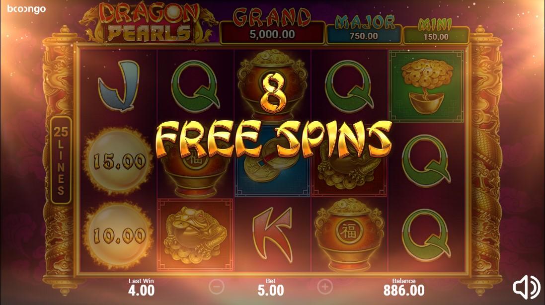 Бесплатный слот Dragon Pearls: Hold & Win