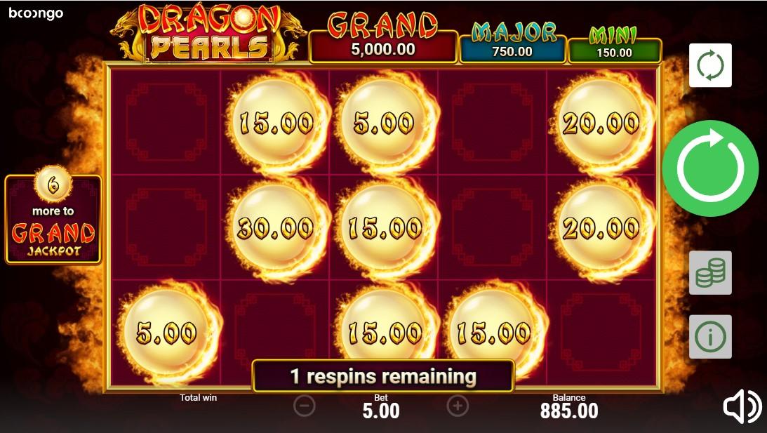 Dragon Pearls: Hold & Win бесплатный слот