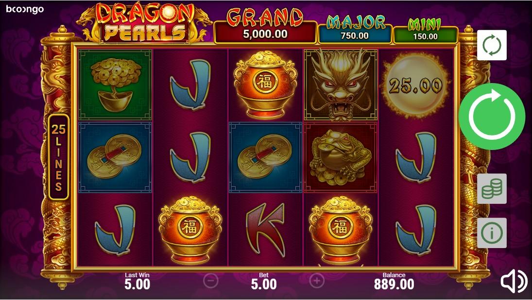 Dragon Pearls: Hold & Win играть онлайн