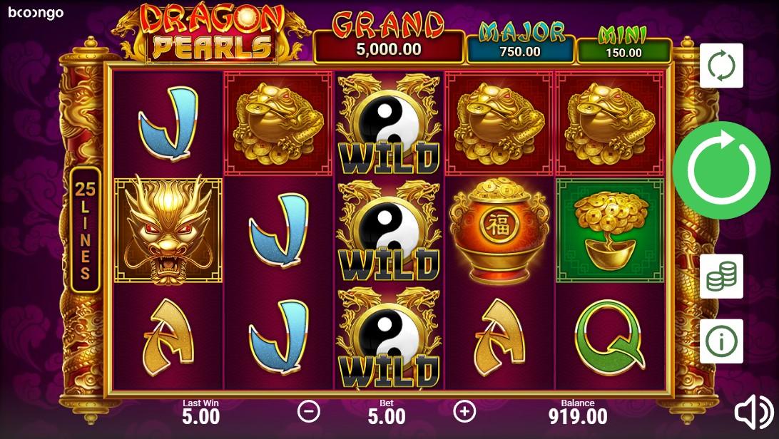 Слот Dragon Pearls: Hold & Win играть
