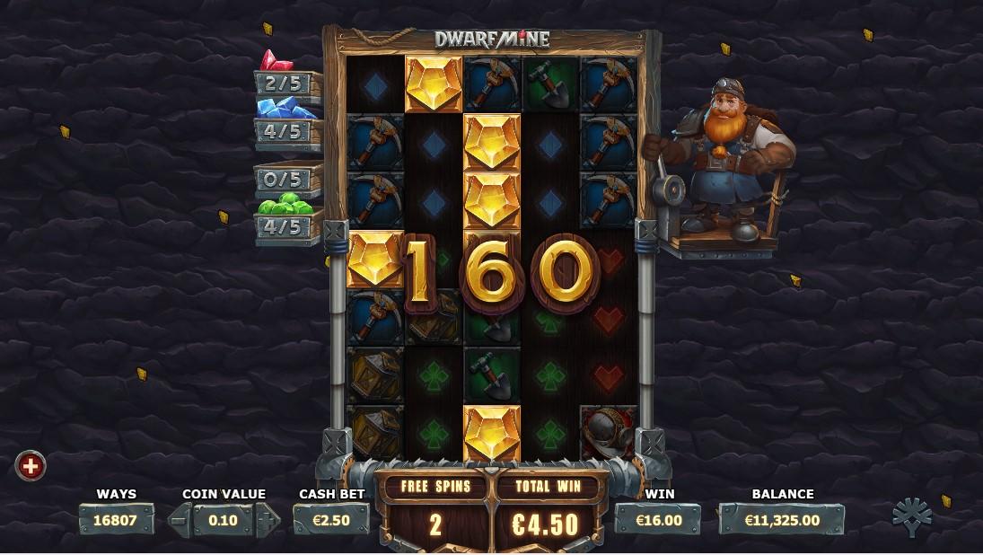 Бесплатный игровой автомат Dwarf Mine