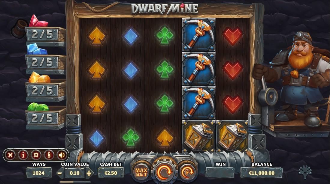 Dwarf Mine слот играть