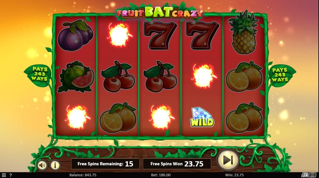 Fruit Bat Crazy играть бесплатно