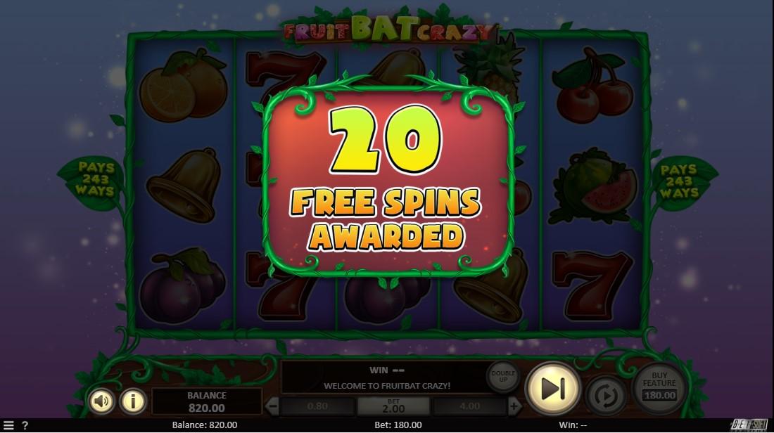 Fruit Bat Crazy игровой автомат