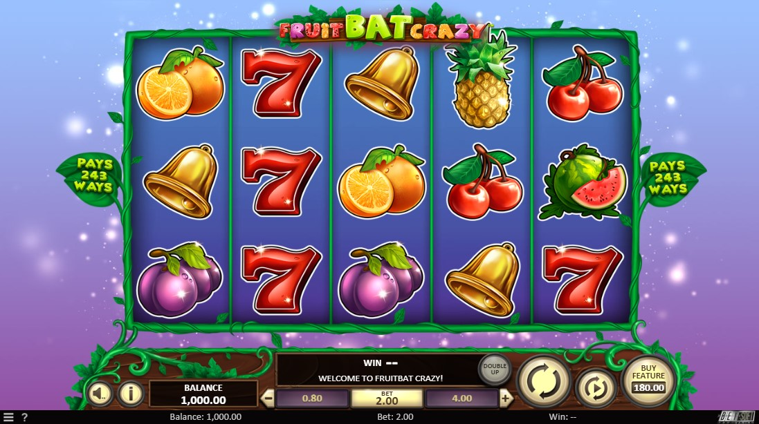Бесплатный слот Fruit Bat Crazy