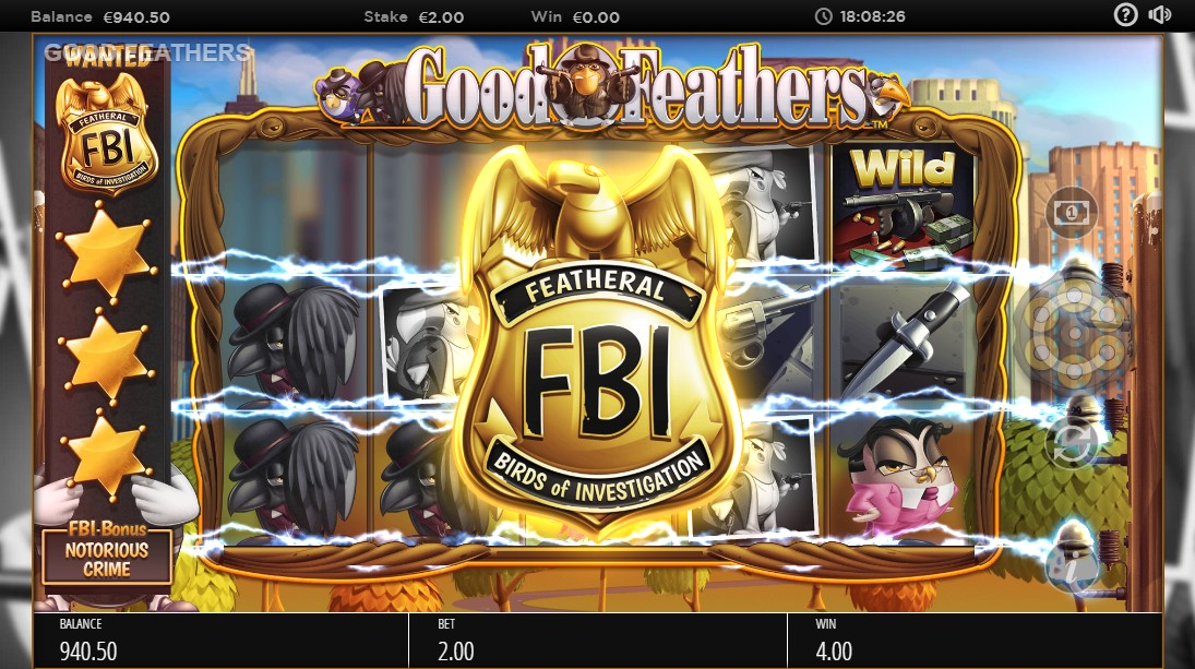 Слот GoodFeathers играть