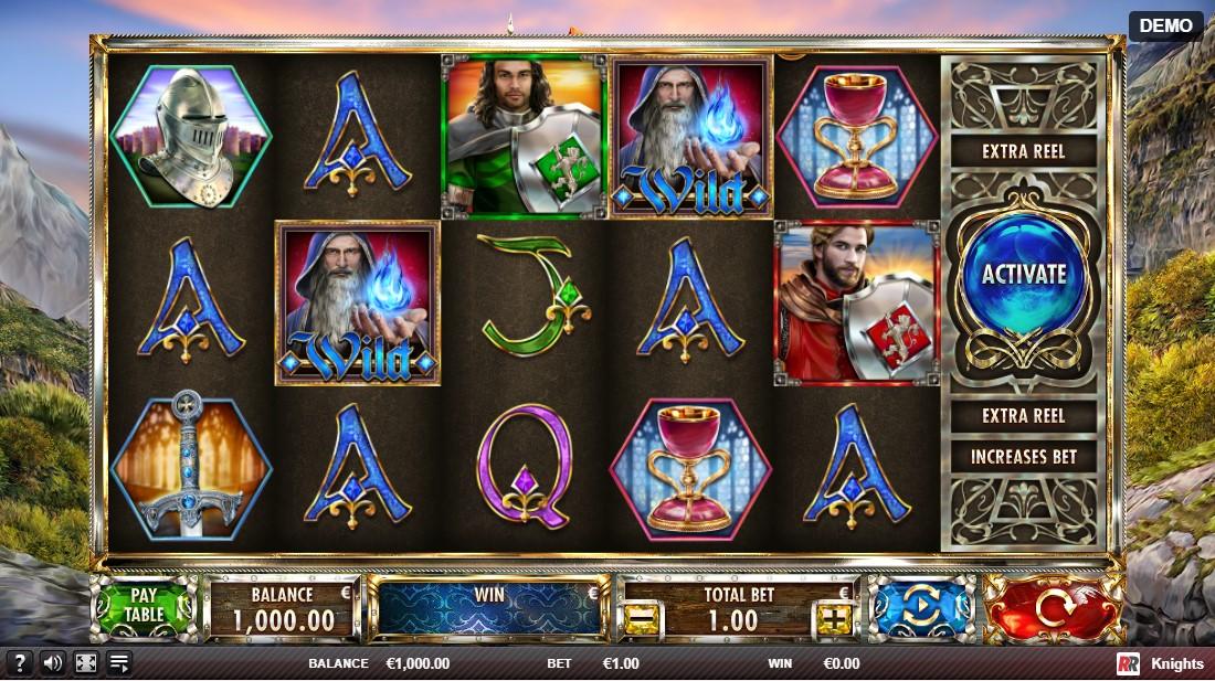 Knights игровой автомат
